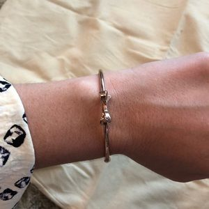 Kate space rose gold bow bracelet